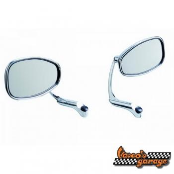 Conjunto espelhos tipo Café Racer